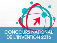 Concours National de l'Invention 2016